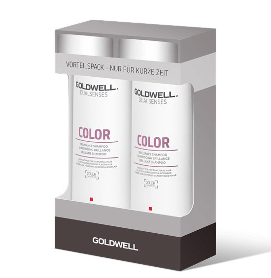 Goldwell Dualsenses Color Brilliance Shampoo 2x 250 ml Vorteilpack