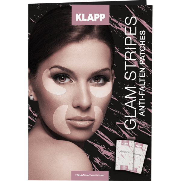 Klapp Glam Stripes 2x 2 Stk.